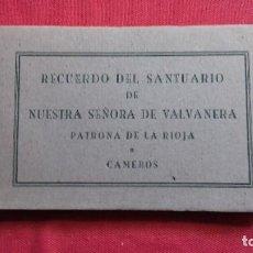 Postales: LA RIOJA BLOC COMPLETO CON 24 POSTALES SANTUARIO NUESTRA SEÑORA DE VALVANERA PATRONA RIOJA Y CAMEROS. Lote 126401931