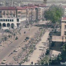 Postales: POSTAL LOGROÑO 21 - VISTA DEL MURO DEL CARMEN - EDICIONES PARIS - CIRCULADA - COLOREADA. Lote 126981215