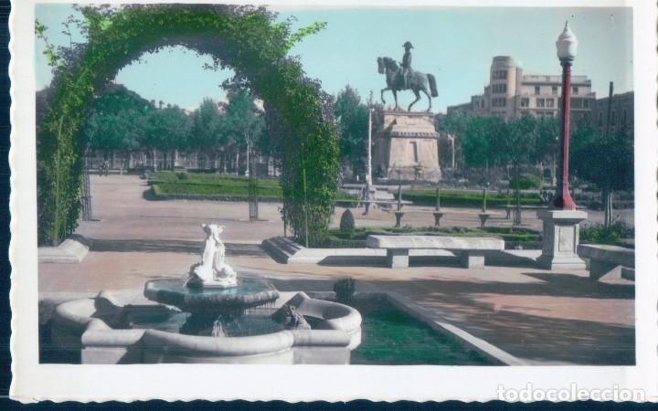POSTAL LOGROÑO 7 - VISTA PARCIAL DEL PASEO DE EL ESPOLON - JOSECHU (Postales - España - La Rioja Antigua (hasta 1939))