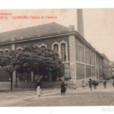 Postales: LOGROÑO.- FABRICA DE TABACOS, Nº 8, LIBRERIA MODERNA.- THOMAS. Lote 128561023