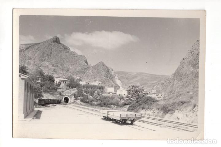 ARNEDILLO (LOGROÑO).- ESTACIÓN Y TÚNEL (Postales - España - La Rioja Antigua (hasta 1939))