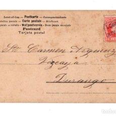 Postales: RARA CARTERÍA NAVARRETE LOGROÑO. Lote 128745471