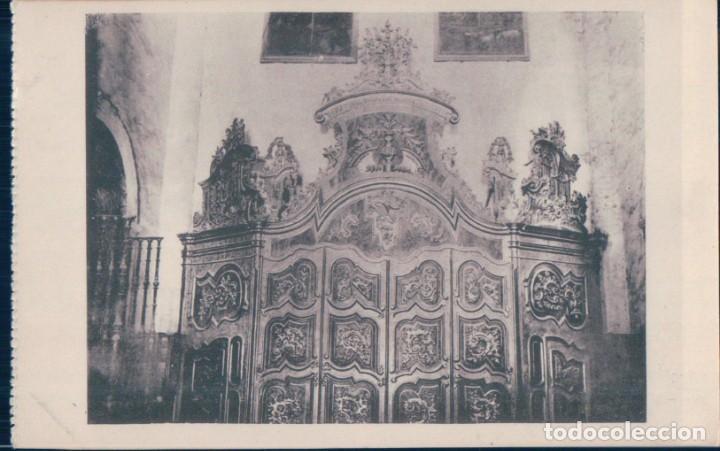 POSTAL SAN MILLAN DE LA COGOLLA - PUERTA DEL CLAUSTRO - HAUSER Y MENET - LOGROÑO (Postales - España - La Rioja Antigua (hasta 1939))