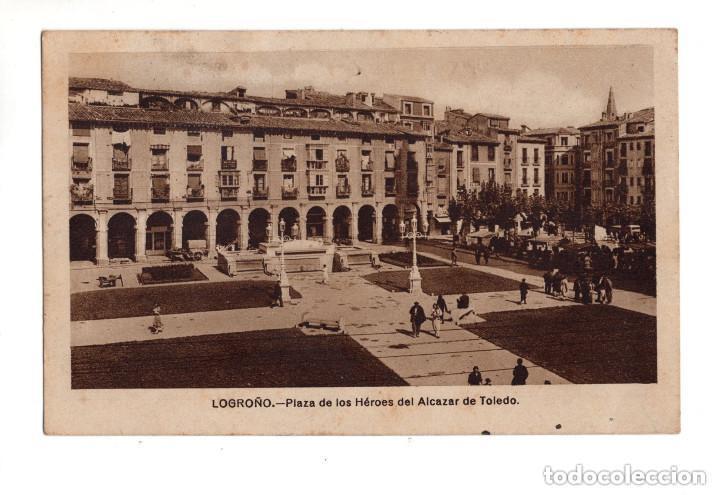 LOGROÑO.- PLAZA DE LOS HEROES DEL ALCAZAR (Postales - España - La Rioja Antigua (hasta 1939))