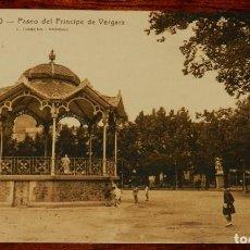 Postales: LOGROÑO (LA RIOJA), PASEO DE PRINCIPE DEL VERGARA, L. ROISIN 17, SIN CIRCULAR. Lote 133554310