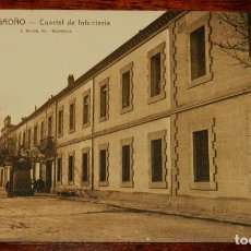 Postales: LOGROÑO (LA RIOJA), CUARTEL DE INFANTERIA, L. ROISIN 18, SIN CIRCULAR. Lote 133554434