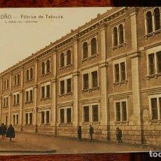 Postales: LOGROÑO (LA RIOJA), FABRICA DE TABACOS, L. ROISIN 19, SIN CIRCULAR. Lote 133554534