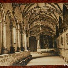 Postales: LOGROÑO (LA RIOJA), CLAUSTRO DE LA IGLESIA IMPERIAL DE SANTA MARIA DE PALACIO, L. ROISIN 10, SIN CIR. Lote 133555538