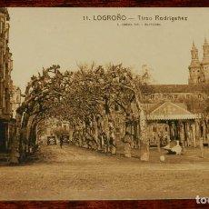 Postales: LOGROÑO (LA RIOJA), TIRSO RODRIGAÑEZ, L. ROISIN 11, SIN CIRCULAR. Lote 133555718