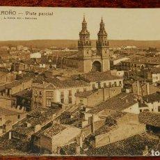 Postales: LOGROÑO (LA RIOJA), VISTA PARCIAL, L. ROISIN 1, SIN CIRCULAR. Lote 133556454