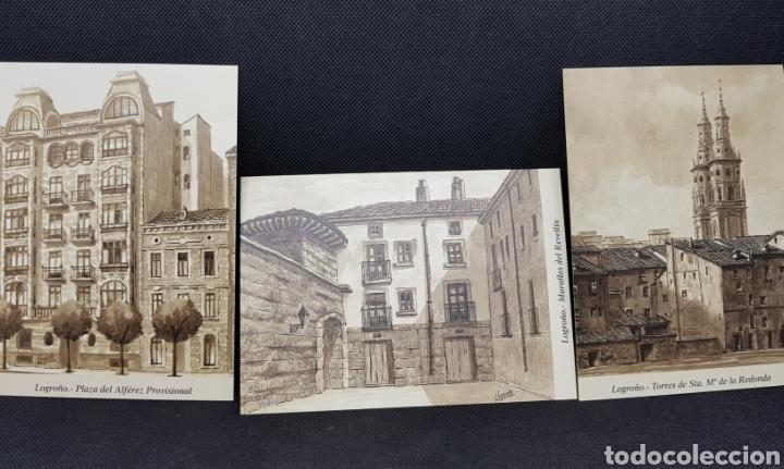 Postales: POSTALES POSTAL LOGROÑO ARTISTICO ANTIGUO - taquio uzqueda - car115 - Foto 4 - 30800597