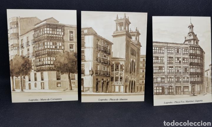 Postales: POSTALES POSTAL LOGROÑO ARTISTICO ANTIGUO - taquio uzqueda - car115 - Foto 5 - 30800597