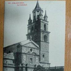 Postales: CALAHORRA, CATEDRAL - FOTOTIPIA THOMAS, EDICION ALMIRALL Nº 686. Lote 142466602