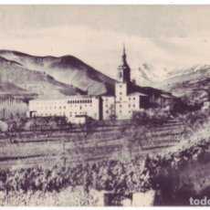 Postales: SAN MILLÁN DE LA COGOLLA: VISTA PANORÁMICA DEL MONASTERIO. HAUSER Y MENET. NO CIRCULADA (AÑOS 10). Lote 142970382