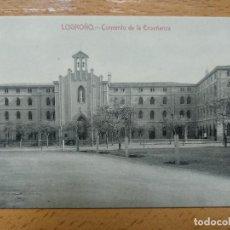 Postales: LOGROÑO - CONVENTO DE LA ENSEÑANZA. LIBRERÍA GENERAL.. Lote 143049522