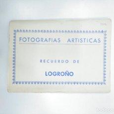 Postales: FOTOGRAFIAS ARTISTICAS. RECUERDO DE LOGROÑO. LOTE DE 10 POSTALES EDICIONES L. MONTAÑES. Lote 144340310