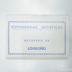 Postales: FOTOGRAFIAS ARTISTICAS. RECUERDO DE LOGROÑO. LOTE DE 10 POSTALES EDICIONES L. MONTAÑES. Lote 144340422