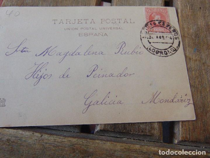 Postales: TARJETA POSTAL REVERSO SIN DIVIDIR LOGROÑO PROCESION DE SAN BERNABE - Foto 2 - 146250810