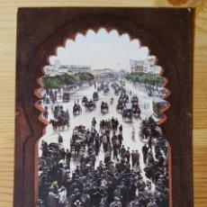 Postales: MADRID LLEGADA A LA PLAZA DE TOROS ED. PURGER & CO. MUNCHEN PHOTOCH. 2829. Lote 152066126