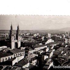 Cartes Postales: TARJETA POSTAL DE LOGROÑO. VISTA PARCIAL.. Lote 155209422