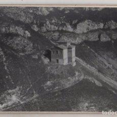 Postales: FOTOGRAFÍA 17,50 X 12 CM VISTA AÉREA ERMITA DE CLAVIJO LOGROÑO 1932. Lote 155594218