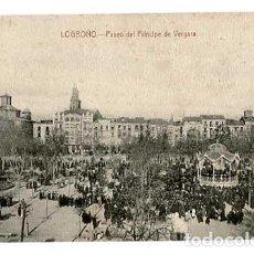 Postcards - LOGROÑO PASEO DEL PRINCIPE DE VERGARA. ED. LIBRERIA GENERAL SIN CIRCULAR - 155678230