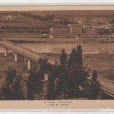 Postales: LOGROÑO 29 PUENTE DE HIERRO. L ROISIN FOT BARCELONA. SIN CIRCULAR. . Lote 155803110