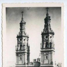 Postales: LOGROÑO. 11. COLEGIATA DE STA. MARÍA DE LA REDONDA. ED. JOSECHU. Lote 156384394