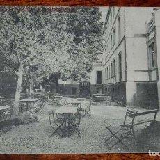 Postales: POSTAL DE LOGROÑO. GRAND HOTEL. COMEDOR DE VERANO. PROPIETARIOS: ESTEBAN Y TROCÓNIZ. NO CIRCULADA.. Lote 156802038