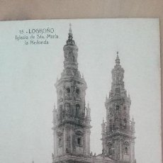 Postales: POSTAL LOGROÑO Nº 15 IGLESIA SANTA MARIA LA REDONDA ED IMPRESION MODERNA LA RIOJA PERFECTA CONSERVAC. Lote 156992782