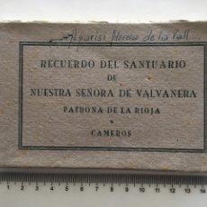 Postales: BLOC 24 POSTALES. RCDO. SANTUARIO NTRA. SRA. DE VALVANERA PATRONA RIOJA-CAMEROS. HUECOGRABADO ARTE.. Lote 159231661