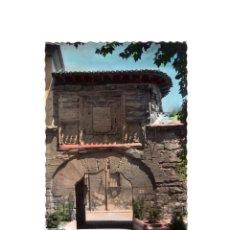 Postales: LOGROÑO.(LA RIOJA).- ANTIGUA MURALLA PUERTA DEL CAMINO.. Lote 160480766