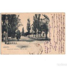 Postales: LOGROÑO.(LA RIOJA).- CALLE DEL GENERAL VARA DEL REY.. Lote 160480918
