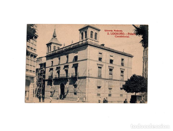 LOGROÑO.(LA RIOJA).- PALACIO CONSISTORIAL. (Postcards - Spain - Old La Rioja (until 1939))