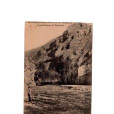 Postales: ESTABLECIMIENTO TERMAL DE ARNEDILLO.(LOGROÑO).- INMEDIACIONES DEL BALNEARIO.. Lote 160558846