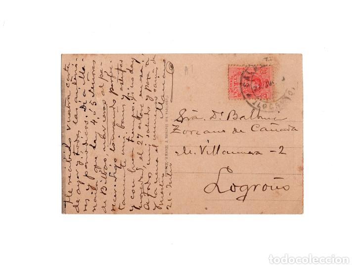 Postales: ESTABLECIMIENTO TERMAL DE ARNEDILLO.(LOGROÑO).- INMEDIACIONES DEL BALNEARIO. - Foto 2 - 160558846