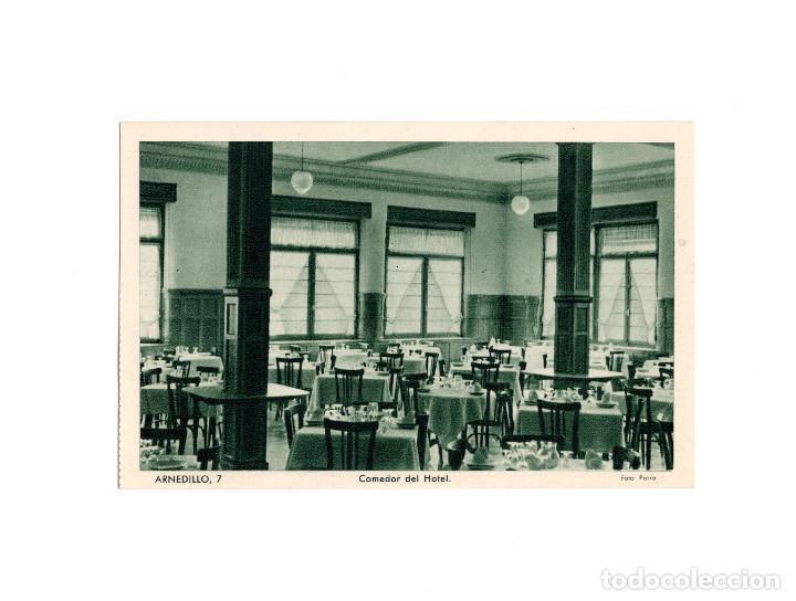 ARNEDILLO.(LOGROÑO).- COMEDOR DEL HOTEL. (Postales - España - La Rioja Antigua (hasta 1939))