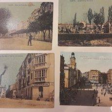 Postales: 1900 ANTIGUAS POSTALES LOGROÑO MADRID. Lote 161149114
