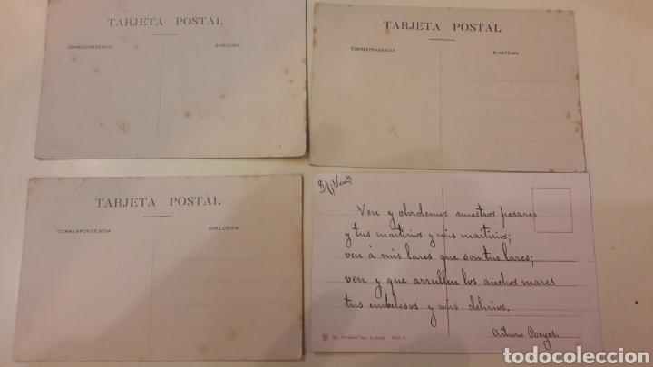 Postales: 1900 Antiguas Postales Logroño Madrid - Foto 2 - 161149114