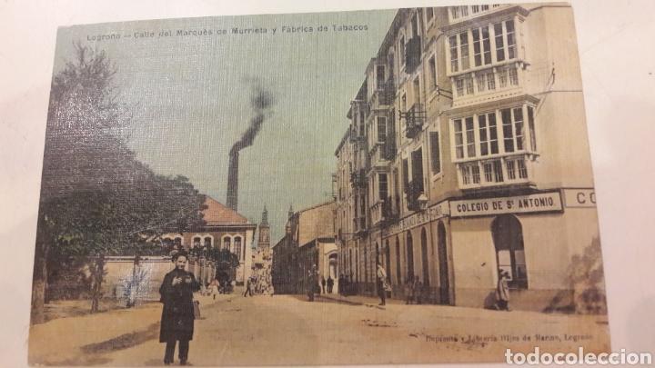 Postales: 1900 Antiguas Postales Logroño Madrid - Foto 3 - 161149114