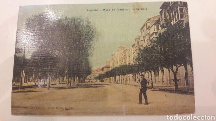 Postales: 1900 Antiguas Postales Logroño Madrid - Foto 5 - 161149114