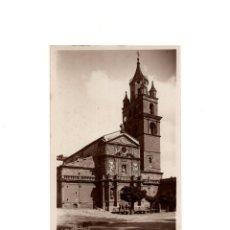 Postales: CALAHORRA.(LA RIOJA).- CATEDRAL - FACHADA PRINCIPAL. POSTAL FOTOGRÁFICA.. Lote 161386930