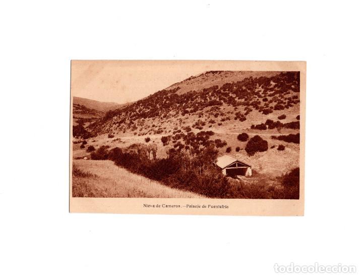 NIEVA DE CAMEROS.(LA RIOJA).- PAISAJE DE FUENTE FRÍA. (Postales - España - La Rioja Antigua (hasta 1939))