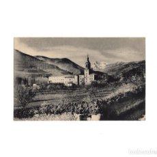 Postales: SAN MILLÁN DE LA COGOLLA.- VISTA PANORÁMICA DEL MONASTERIO.. Lote 161694886