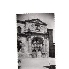 Postales: SANTO DOMINGO CALZADA.- CATEDRAL FACHADA.. Lote 161700494