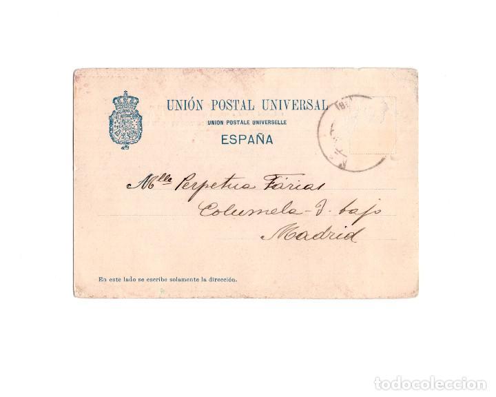 Postales: SANTA MARIA LA REAL DE NÁJERA.(LA RIOJA).- EL PARTEÓN. REYES NAVARRA Y CASTILLA. - Foto 2 - 162417106