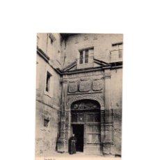 Postales: SANTA MARIA LA REAL DE NÁJERA.(LA RIOJA).- PUERTA DE ENTRADA AL MONASTERIO.. Lote 162418434