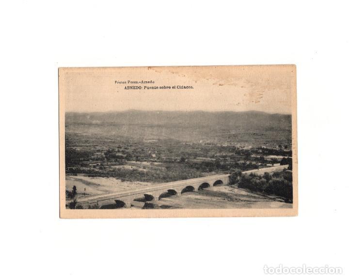 ARNEDO.- PUENTE SOBRE EL CIDACOS. (Postales - España - La Rioja Antigua (hasta 1939))