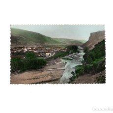 Postales: EZCARAY.- VISTA PARCIAL Y LA PEÑA.. Lote 162568714