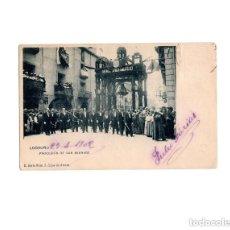 Postales: LOGROÑO.(LA RIOJA).- PROCESIÓN DE SAN BERNABÉ.. Lote 164712622